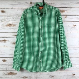 Joe Fresh checkered Button down shirt (binB3)